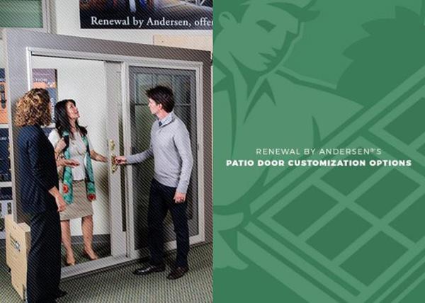 Renewal by Andersen®'s Patio Door Customization Options